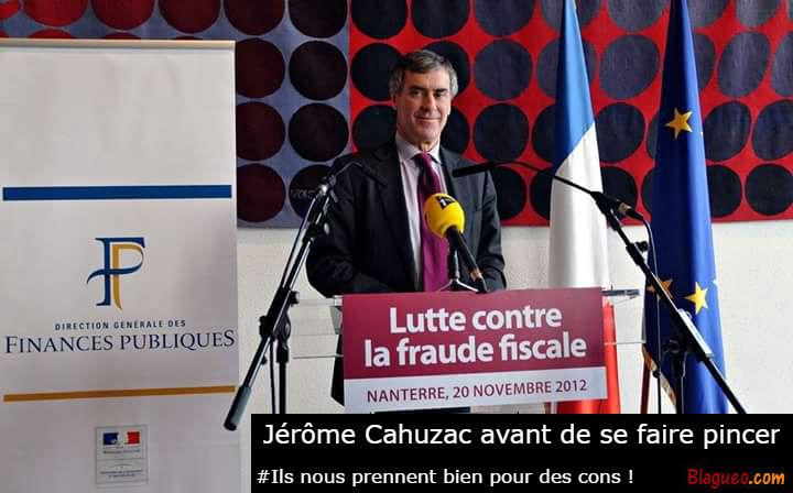 Cahuzac Fraude Fiscale