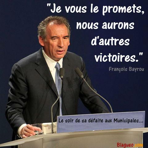 François Bayrou culte