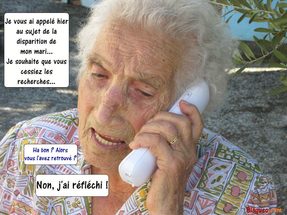 mamie téléphone